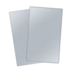 Ten Seconds Studio - 8 x 11 Thin Metal Tape Sheets for Dry Embossing - 2 Pack