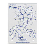 Timeless Touches - Fiber Friend - Paper Piercing Template - Daisies