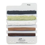 Timeless Touches - Stitchable Fibers - Pines, CLEARANCE