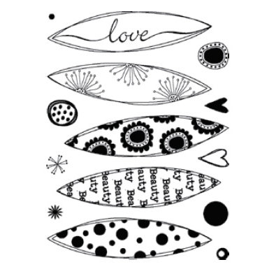 Technique Tuesday - Clear Stamps - Loves Me Loves Me Not - Small