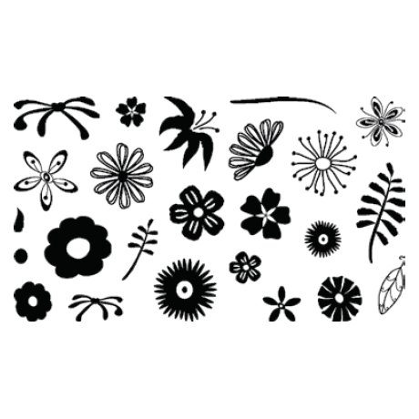 Technique Tuesday - Clear Stamps - Kabloom - Flowers, CLEARANCE