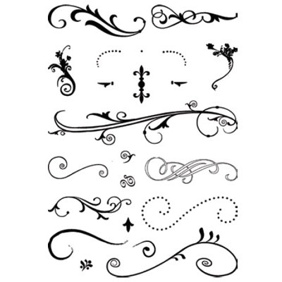 Technique Tuesday - Clear Stamps - WhirlyGigs