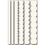 Technique Tuesday - Technique Tiles - Scalloped Baseboards