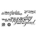 Technique Tuesday - Clear Acrylic Stamps - This Is the Day by Ali Edwards