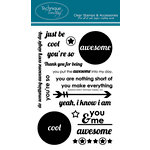 Technique Tuesday - Clear Acrylic Stamps - Awesome