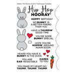Technique Tuesday - Animal House Collection - Clear Acrylic Stamps - Bailey the Bunny