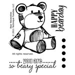 Technique Tuesday - Clear Acrylic Stamps - Bear Necessities