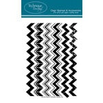 Technique Tuesday - Clear Acrylic Stamps - Chevrons Two Step