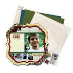 Technique Tuesday - 12 x 12 Page Kit - Live In The Moment by Ali Edwards, CLEARANCE