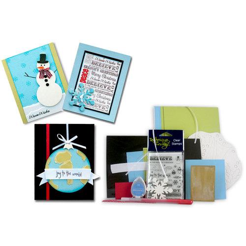 Technique Tuesday - Christmas - Card Kit - Season's Greetings, CLEARANCE