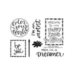 Technique Tuesday - Clear Acrylic Stamps - Color your World