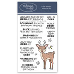 Technique Tuesday - Animal House Collection - Clear Photopolymer Stamps - Dani Deer