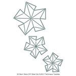 Technique Tuesday - DIY Steel Die - 3D Barn Stars