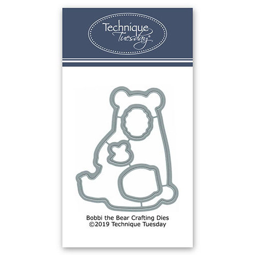 Technique Tuesday - Animal House Collection - DIY Steel Die - Bobbi the Bear