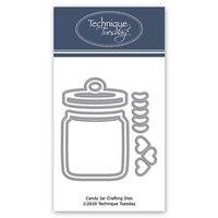 Technique Tuesday - Fresh Cut Studio - DIY Steel Die - Candy Jar