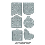 Technique Tuesday - Fresh Cut Studio - DIY Steel Die - Charming Hearts
