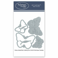 Technique Tuesday - DIY Steel Die - Classy Butterflies