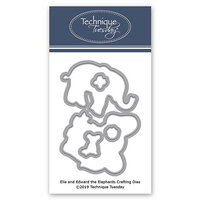 Technique Tuesday - Animal House Collection - DIY Steel Die - Ella and Edward the Elephants