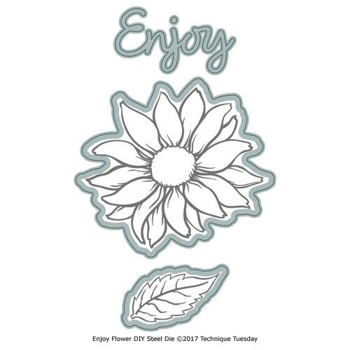 Technique Tuesday - DIY Steel Dies - Enjoy Layered Flower