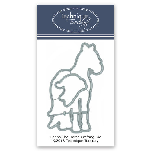 Technique Tuesday - Animal House Collection - DIY Steel Die - Hanna the Horse