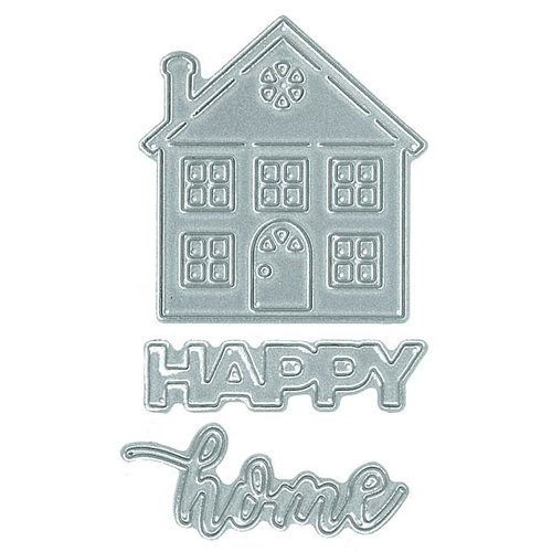 Technique Tuesday - Fresh Cut Studio - DIY Steel Die - Happy Home