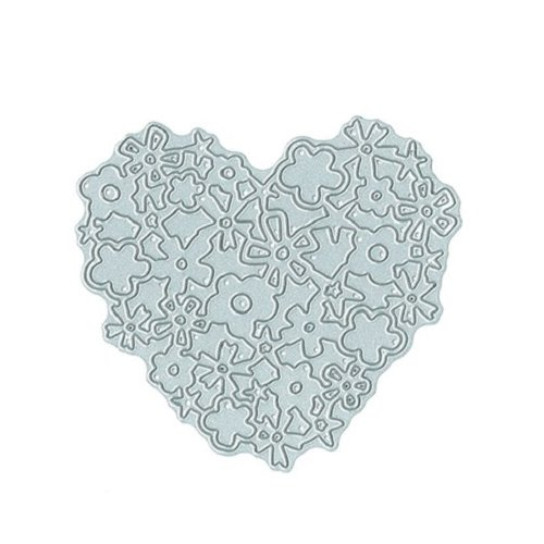 Technique Tuesday - DIY Steel Die - Lacy Heart