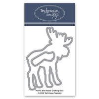 Technique Tuesday - Animal House Collection - DIY Steel Die - Morris the Moose