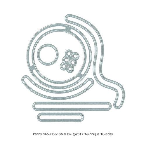 Technique Tuesday - DIY Steel Die - Penny Slider