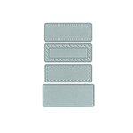 Technique Tuesday - DIY Steel Die - Rectangle Labels
