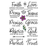 Technique Tuesday - Clear Photopolymer Stamps - Faith Opens the Door