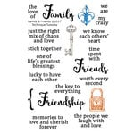 Technique Tuesday - Memory Keepers Studio - Clear Acrylic Stamps - Family and Friends
