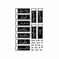 Technique Tuesday - Clear Photopolymer Stamps - For Our Family by Ali Edwards