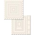 Technique Tuesday - 12x12 Technique Tiles - FUNdamental Postage Frames