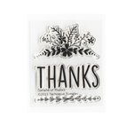 Technique Tuesday - Clear Acrylic Stamps - Garland of Thanks