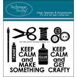 Technique Tuesday - Clear Acrylic Stamps - Get Crafty