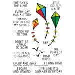 Technique Tuesday - Memory Keepers Studio - Clear Acrylic Stamps - Go Fly a Kite