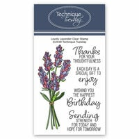 Technique Tuesday - Greenhouse Society Collection - Clear Photopolymer Stamps - Lovely Lavender