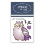 Technique Tuesday - Clear Acrylic Stamps - Hello Owl