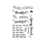 Technique Tuesday - Memory Keepers Studio - Clear Acrylic Stamps - I Am Thankful