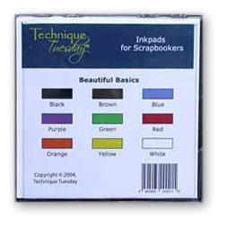 Technique Tuesday - Inkpads - Beautiful Basics