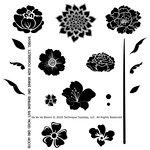 Technique Tuesday - Clear Acrylic Stamps - Va Va Va Bloom