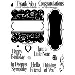 Technique Tuesday - Clear Acrylic Stamps - Simply Stated