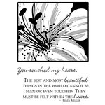 Technique Tuesday - Clear Acrylic Stamps - Lovely Lily