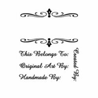 Technique Tuesday - Clear Stamps - Created By Hand