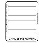 Technique Tuesday - Clear Acrylic Stamps - Capture the Moment by Ali Edwards