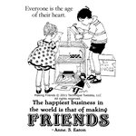 Technique Tuesday - Clear Acrylic Stamps - Making Friends