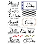 Technique Tuesday - Clear Acrylic Stamps - Magical Moment