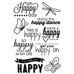 Technique Tuesday - Clear Acrylic Stamps - Oh Happy Day