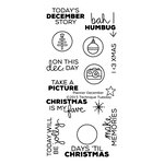 Technique Tuesday - Planner Collection - Clear Photopolymer Stamps - December Story