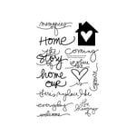 Technique Tuesday - Clear Acrylic Stamps - Memories of Home by Ali Edwards